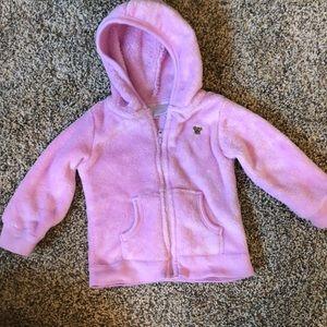 6-9 month purple baby girl jacket